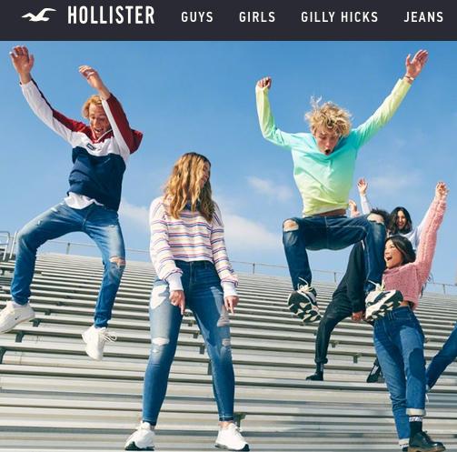 Male Hollister Model