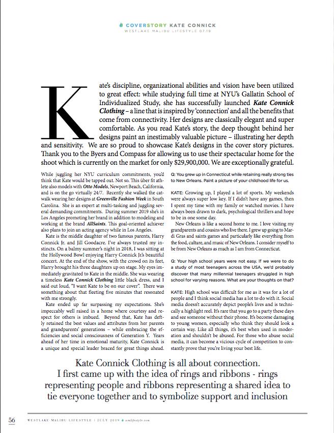 malibu magazine editorial