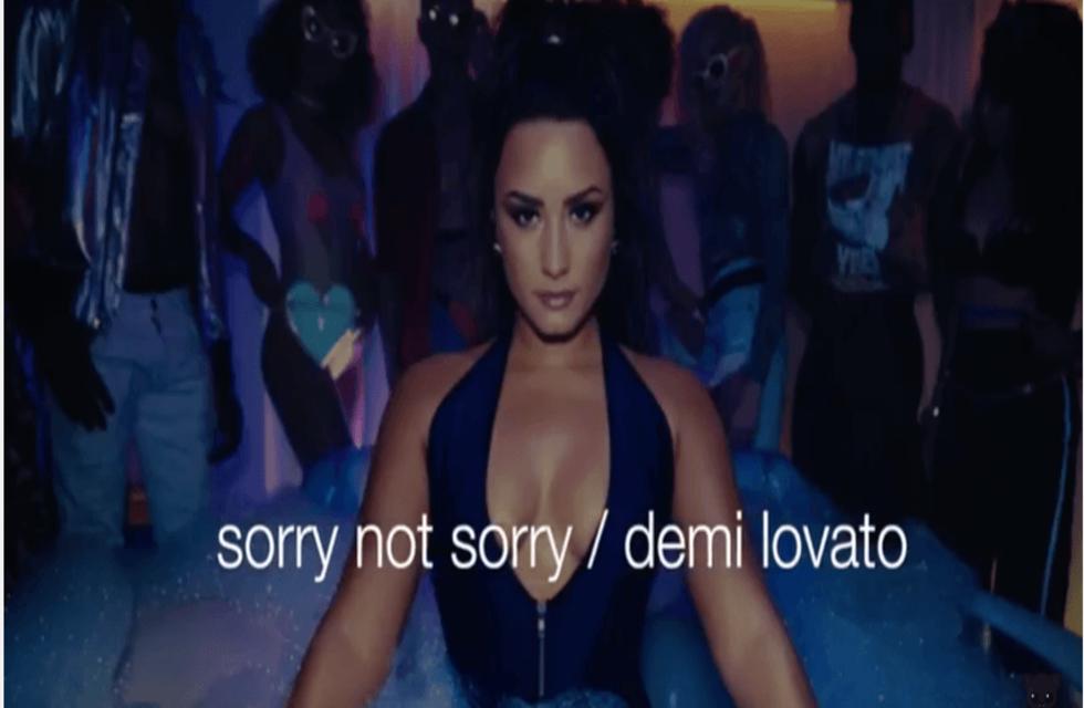 DEMI LAVATO - Sorry Not Sorry Video - Otto Models
