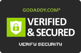 Go Daddy Verified and Secured Badge