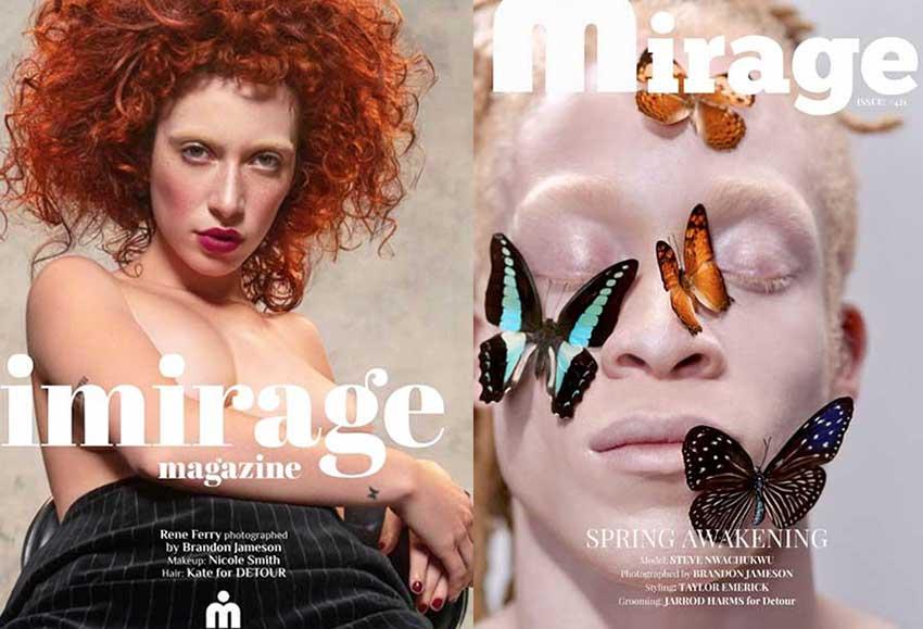 RENE and Steve Magazine Slider - OTTO MODELS Los Angeles Modeling Agency