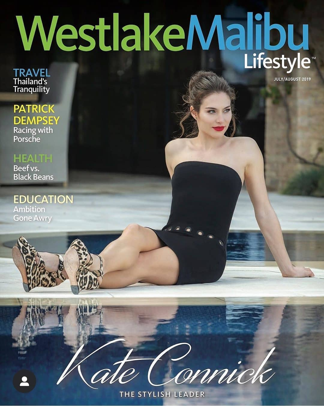 KATE CONNICK - Westlake Malibu Magazine Cover