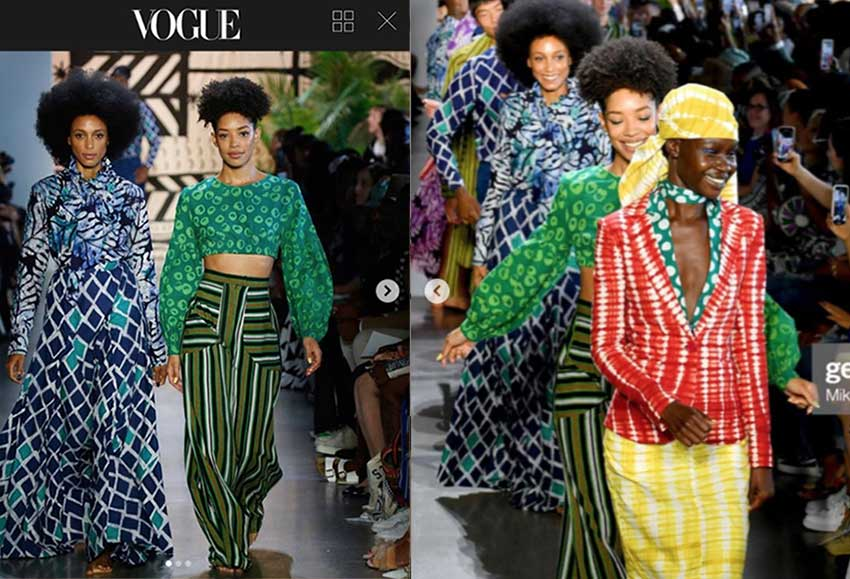 Vogue Magazine, New York Fashion Week, Otto Models